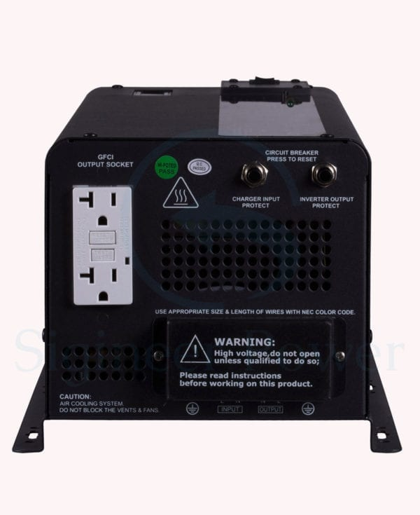 3000 Watt Inverter Charger 48 Volt to 110V 120Vac Pure Sine Wave (3)